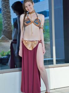 Eva Princess Leia Gone Bad - Picture 1