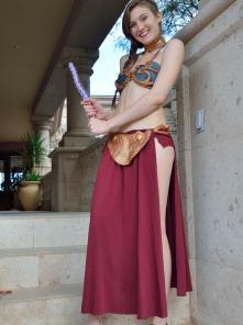 Eva Princess Leia Gone Bad - Picture 12