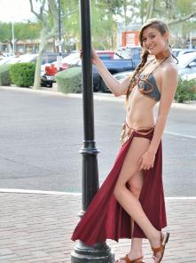 Eva Princess Leia Gone Bad - Picture 9