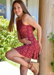 Kelly Summer Dress Anal - Picture 5