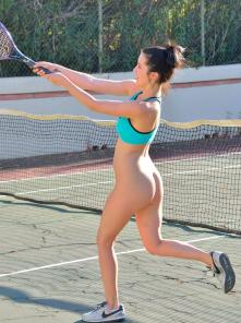 Carrie-II Buttalicious Tennis Picture 4