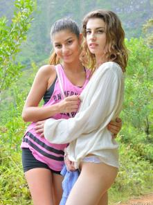 Kristen-and-Nina Secret Kailua Trail Picture 3