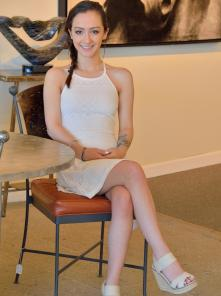 Lily Visiting The Gallery Picture 5