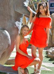 Melody-Harley-II Teen Beauties In Red Picture 1
